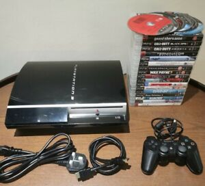 Sony-PlayStation-3-PS3-80GB-Console-Mega-Bundle-With-23-Games-amp-Controller