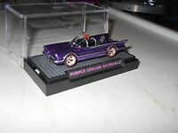Hotwheels 2015 Ralphs Customs 66 Tv Batmobile Purple Chrome Rims 1/10 Redlines