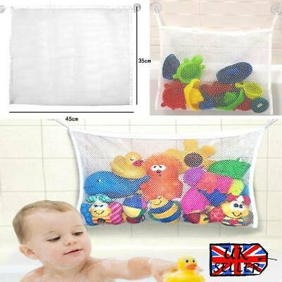 Baby Bath Toy Tidy Storage Hanging Bag Mesh Bathroom Organizer Net Child UK