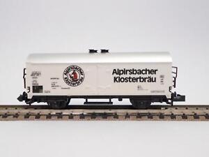 MINITRIX-Bierwagen-ALPIRSBACHER-KLOSTERBRAU-36926
