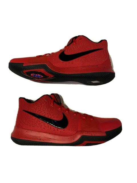 kyrie 3 red and black