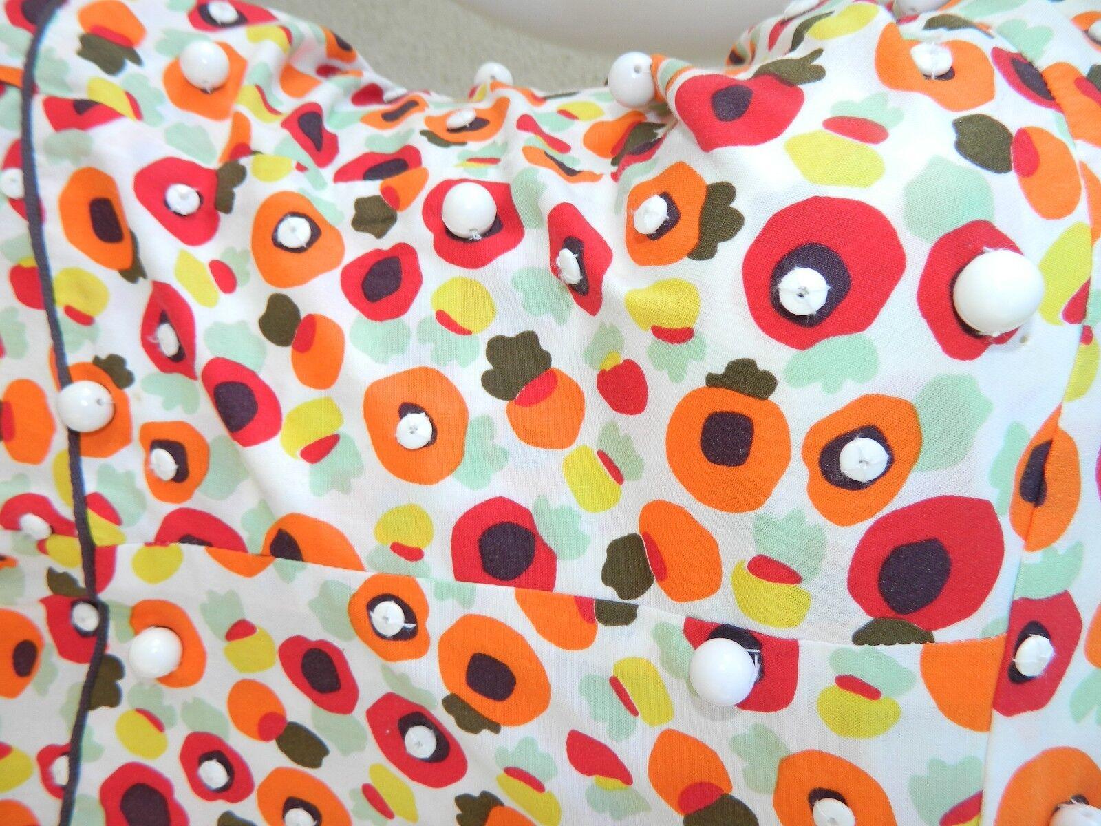 ISABELA CAPETO Dress Portuguese Beaded Beaded Beaded Halter Sundress SUPER RARE  Sz Small d84971