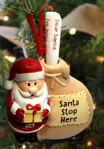 LETTER CHRISTMAS EVE BOX SHELF ELF IDEA CHILDS SANTA STOP HERE TREE DECORATION