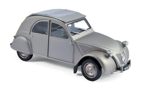 Norev Citroën 2CV A 1950 1 18 grigio