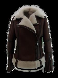 56 giacca donna rossa in vera pelle di agnello