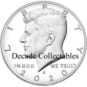 2021 S 50C Kennedy Half Dollar Proof Deep Cameo Clad