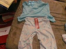 American Girl Grace Thomas's Pajamas for Child Size MED  matches Doll New 10-12