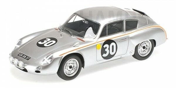 PORSCHE 356B 1600 GS Carrera GTL Abarth N º 30 24h LEMANS 1962 (Pon - de beaufor