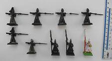 9 HIGH ELF SPEARMEN Metal Elves Aelf Aelves Army Warhammer 1990s PG4
