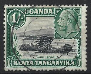 1936 GV Kenya, Uganda and Tanganyika 1/- fine used, SG118b Perf 13x12 cat £140