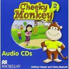 Cheeky Monkey 2 DVD & Photocopiable CD by Claire Medwell, Kathryn Harper (CD-Audio, 2008)