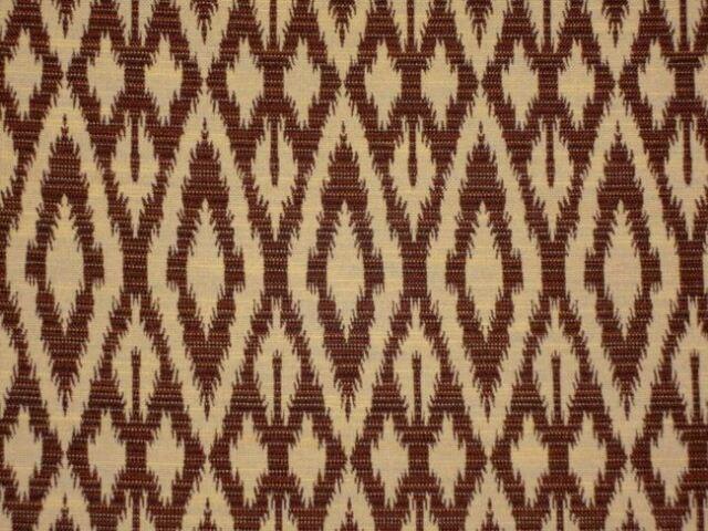 Duralee AMAZON CHOCOLATE Ethnic Kilim Destinations III Drapery Fabric 71025