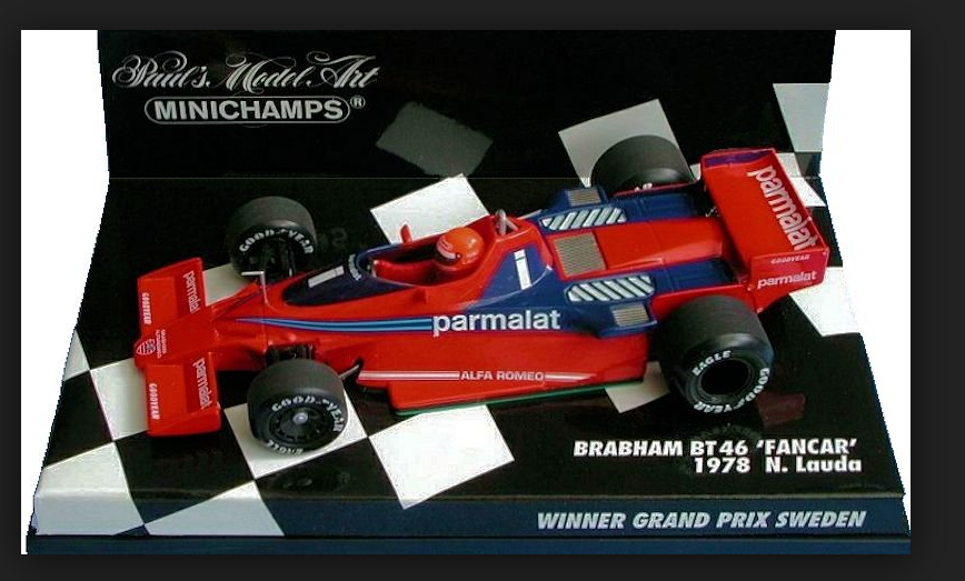 Brabham BMW BT46 FANCAR Winner GP Sweden 1978 N.Lauda 1 43 430780101