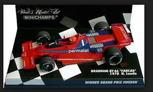 Brabham BMW BT46 FANCAR Winner GP Sweden 1978 N.Lauda 1 43 430780101