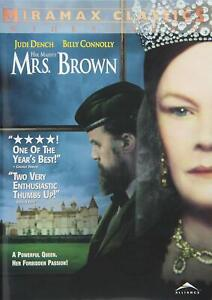 HER MAJESTY MRS BROWN ~ JUDI DENCH BILLY CONNOLLY ~ RARE