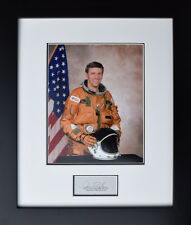 JOE H. ENGLE - SHUTTLE COMMANDER - Framed Photograph - SIGNED - Space Shuttle