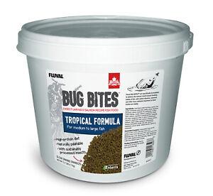 Fluval-Bug-Bites-Tropische-Fische-Granulat-1-4-1-6mm-1-7kg-EINZIGARTIG