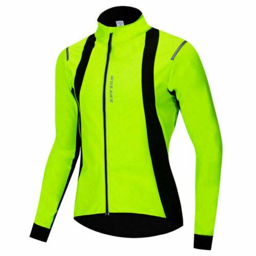 Maglia da ciclismo MTB invernale da uomo caldo cappotto termico in pile termico