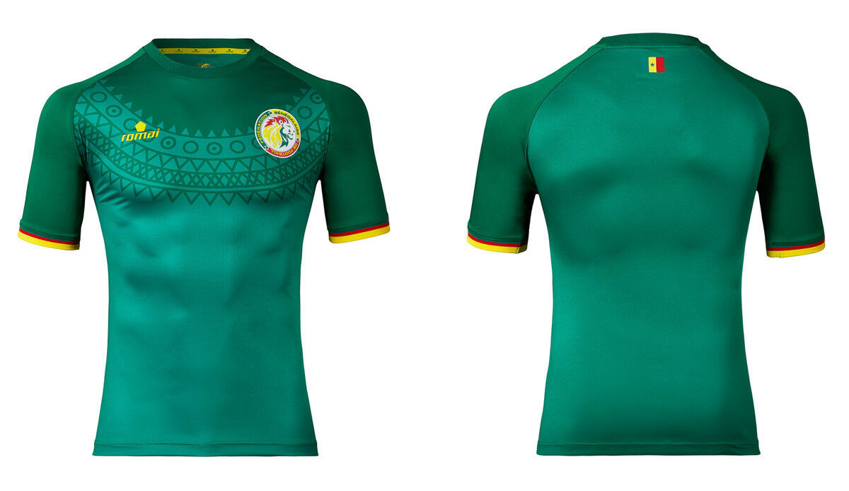 X2 SENEGAL Official Romai Away Football Shirt 2016 17 nieuwe Jersey