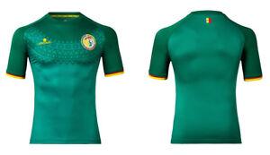 2360c1dbc90 Image is loading x2-SENEGAL-Official-Romai-AWAY-Football-Shirt-2016-