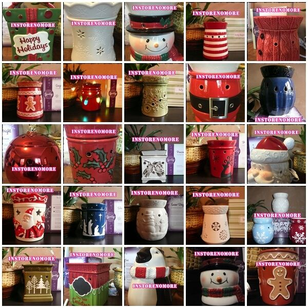 1 SCENTSY Holiday Christmas Menorah Winter Themed Full or Plug In Size Warmer