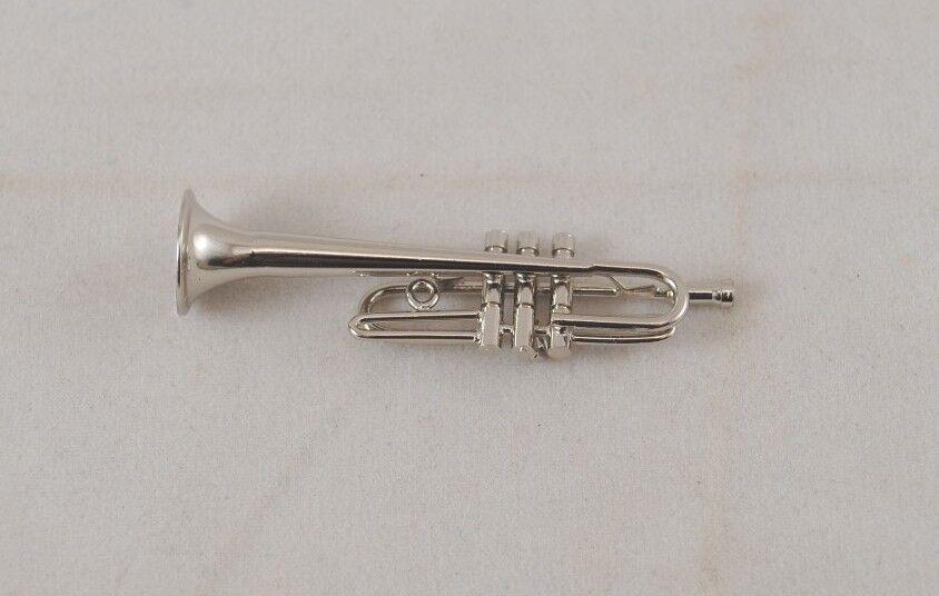 1.729//2 Reutter Porcelain Trumpet//Trumpet Doll House Dollhouse 1:12 Art