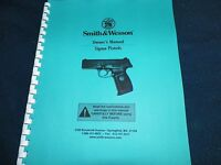 Smith & Wesson, Sigma Pistol Manual, 33 Pages