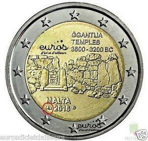 2-euros-Malte-2016-Ggantija-comportant-le-poincon-Monnaie-de-Paris-UNC