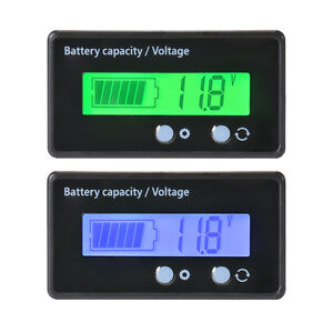 12v 48v wasserdicht lcd batterie kapazit t tester blei. Black Bedroom Furniture Sets. Home Design Ideas