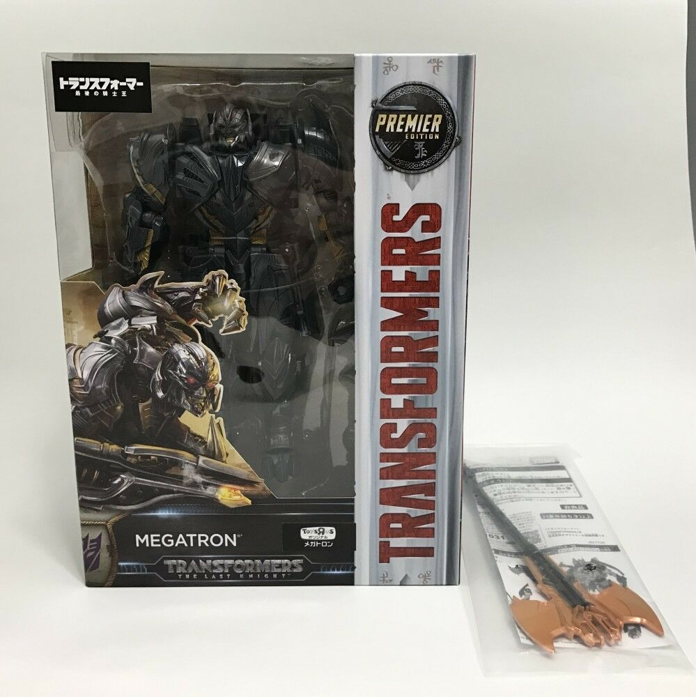 Transformers le dernier chevalier Megatron Figure PREMIER EDITION  Toys  R  Us Japon LTD  top marque