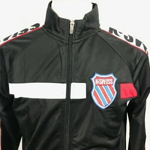 KSWISS-Old-Goods-Vintage-Style-Mens-Track-Jacket-Size-LARGE-NEW-NWT
