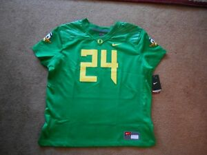 e8254d53d Image is loading Authentic-Nike-Team-Oregon-Ducks-24-Green-Football-