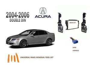 NEW 2004-2006 ACURA TL Car Stereo DOUBLE DIN Dash Kit ...