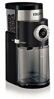 Krups Gx5000 Professional Electric Coffee Burr Grinder With Grind Size And Cup S on sale