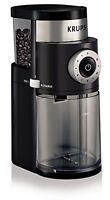 Krups Gx5000 Professional Electric Coffee Burr Grinder With Grind Size And Cup S