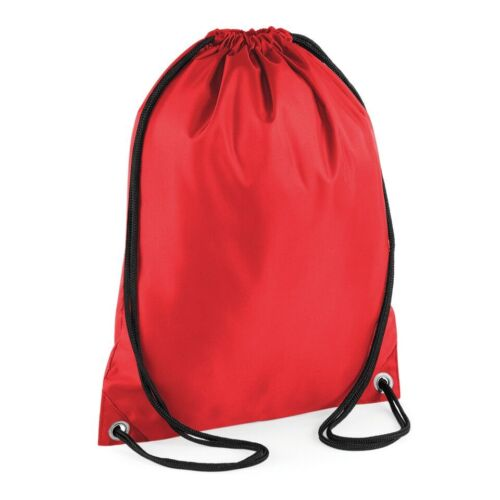 Personalised Boys School Bag Gym Backpack 7 Colours Add Any Name Swimming  Red