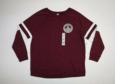 New Just My Size 1X Cotton Blend Fleece Lined Crew Neck L//S Sweatshirt Navy