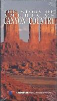 Vhs: The Story Of America's Canyon Country.....new