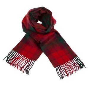 Pure-Luxurious-Cashmere-Scottish-Tartan-Clan-Scarf-MacNab