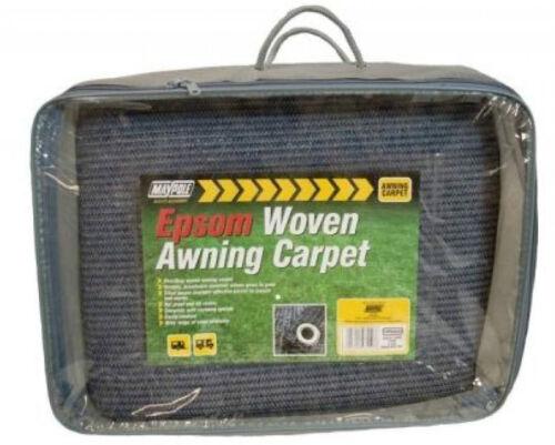 Maypole bleu respirant weaveatex tente tapis de sol nattes caravane auvent tapis