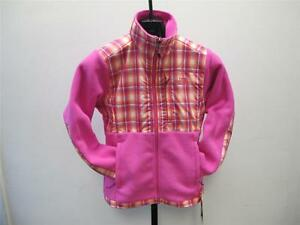 Pink Face North Jacket L Fleece Plaid Kvinders A64SwUqXxX