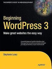 Beginning WordPress 3 (Expert's Voice in Web Development)-ExLibrary