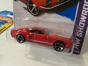Hot Wheels 68 Shelby Gt500 Hw Showroom Red Ebay