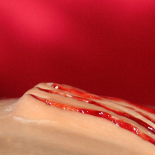 claw wound #1 Deep /& detailed latex scar Halloween Fork slash UK Cat scratch