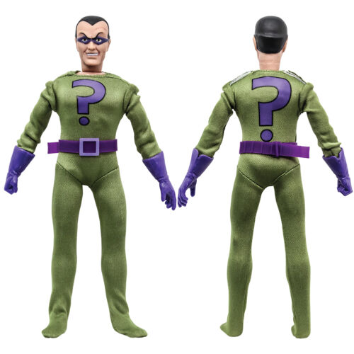 SUPER FRIENDS Rétro Action Figures Series 3 Riddler loose en usine Sac