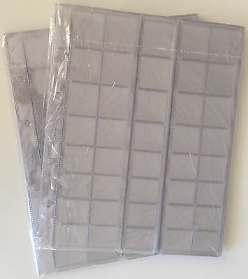 Optima size cell - diff. 10 pcs. Coin sheets // pages for 40 different coins