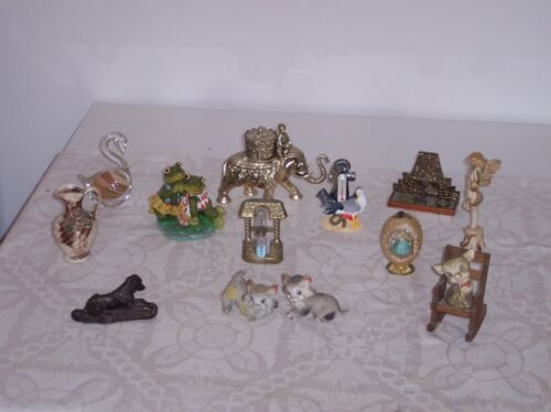 Presents or Collectors 12 Various Ornaments for Gifts