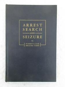 Hubert Dax & Brooke Tibbs ARREST SEARCH AND SEIZURE Milwaukee Police 1946
