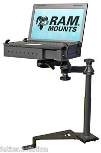 RAM No-Drill Laptop Mount for the 2015-2017 Ford F-150 and Transit Connect RAM-VB-195-SW1FK