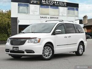 2013 Chrysler Town & Country Limited *Nav, Cam, Accident Free*